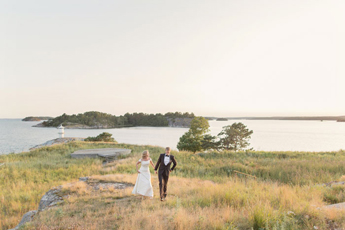 Bröllop på Dalarö i Stockholms Skärgård