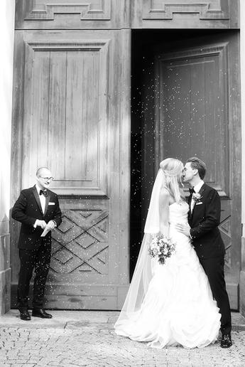 Bröllopsfotografering på Ekensdal i Stockholm