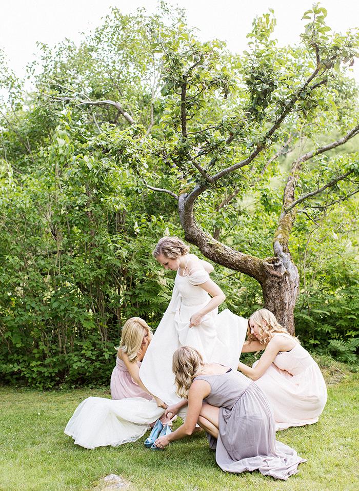 påklädning bröllop, klänning., bröllopsfotograf