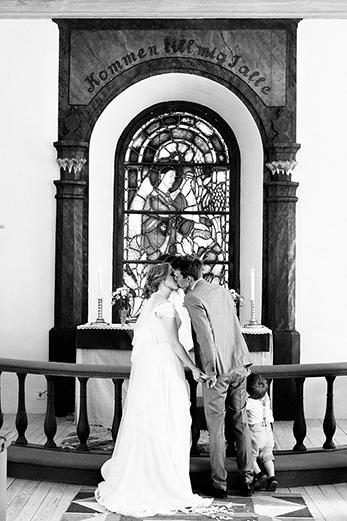 första kyssen