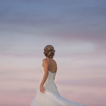 bride-and-a-pastel-coloured-night-sky