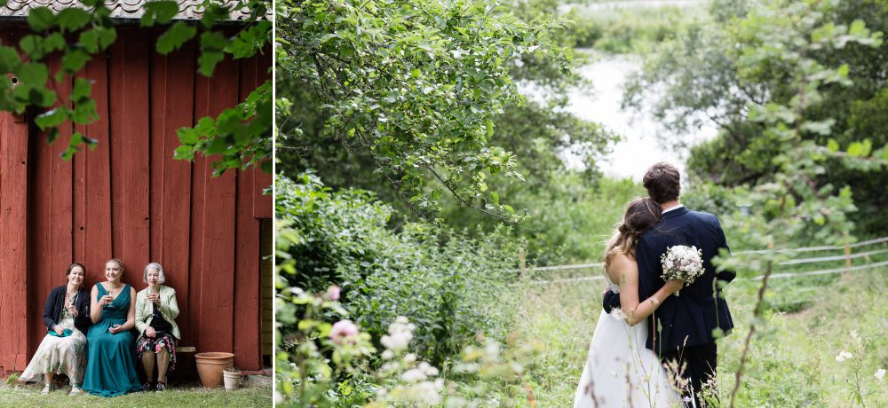 wedding celebrations at ludgo rectory sweden