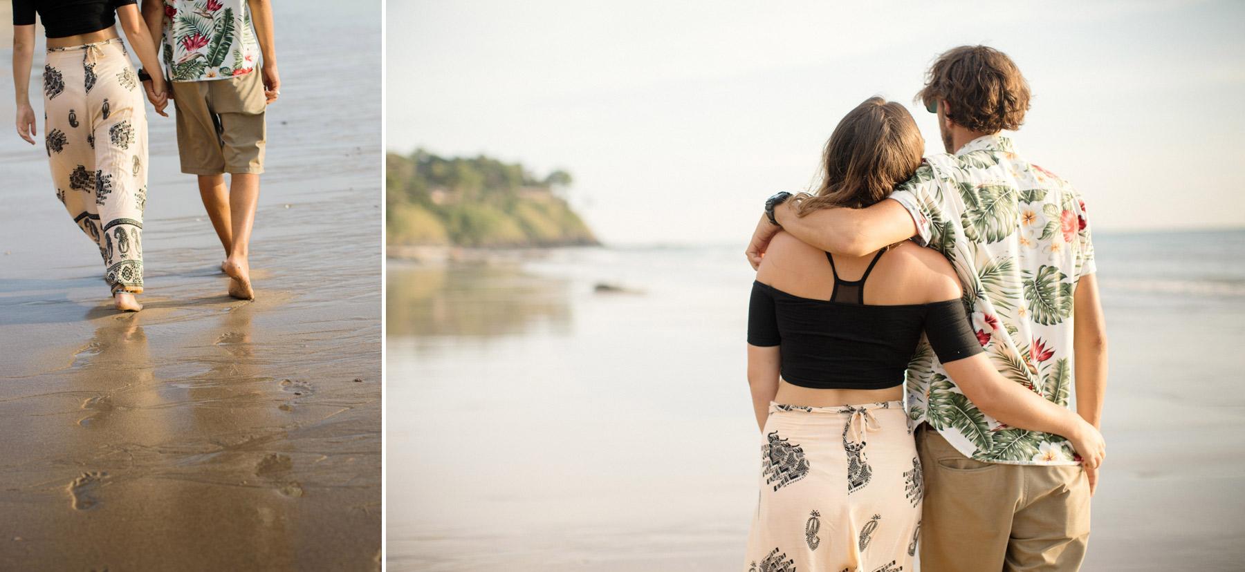 par pa strand i Thailand