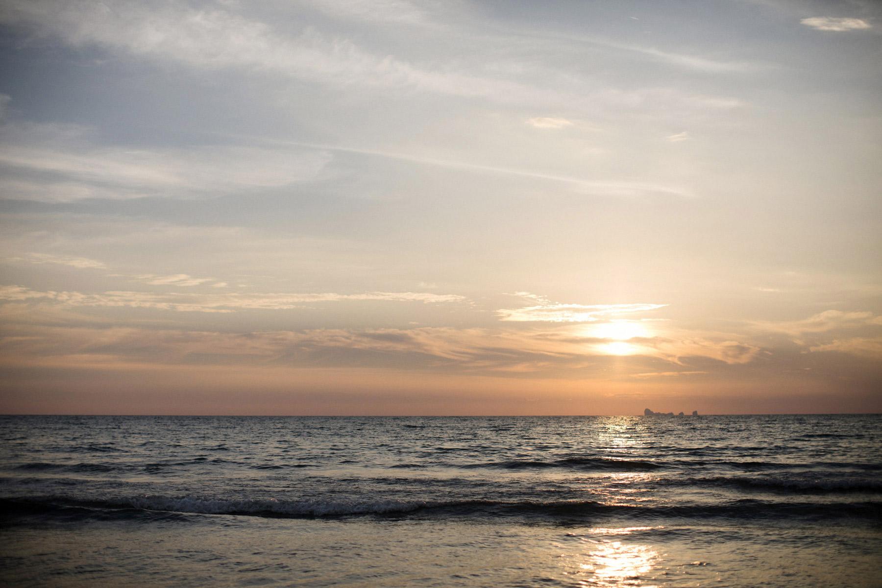solnedgang i thailand