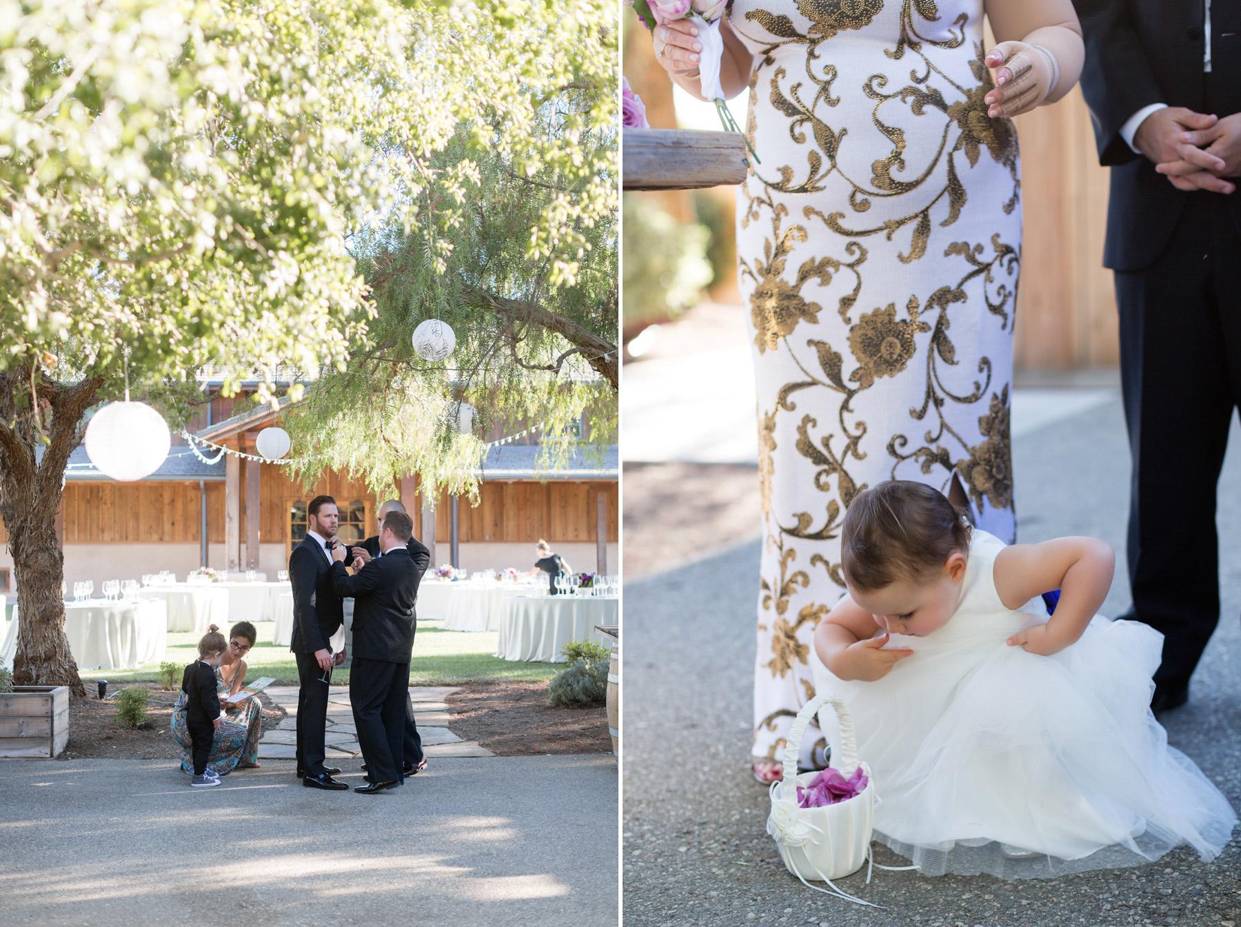 wedding at roblar winery