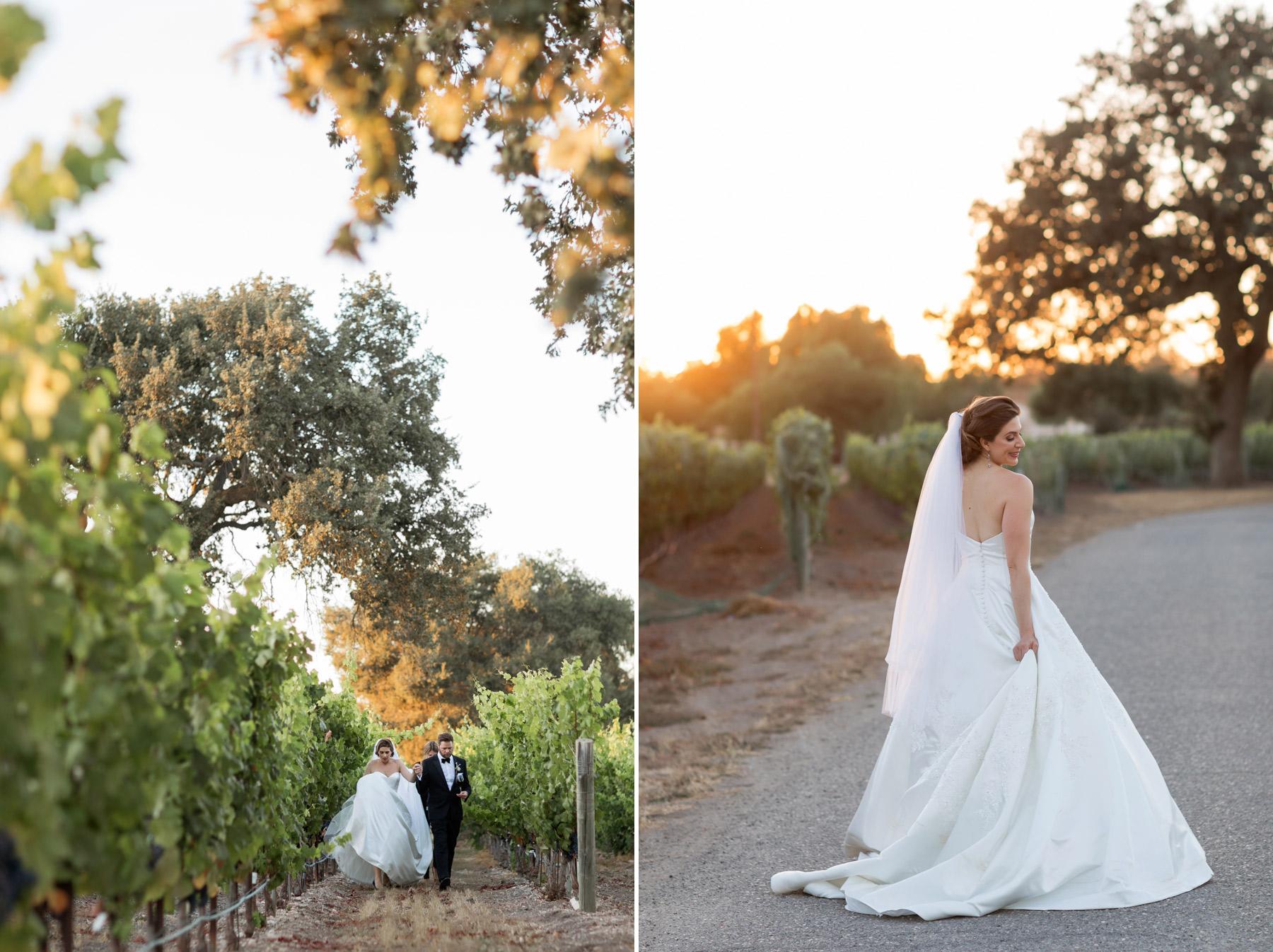 wedding at the roblar winery lena larsson photography