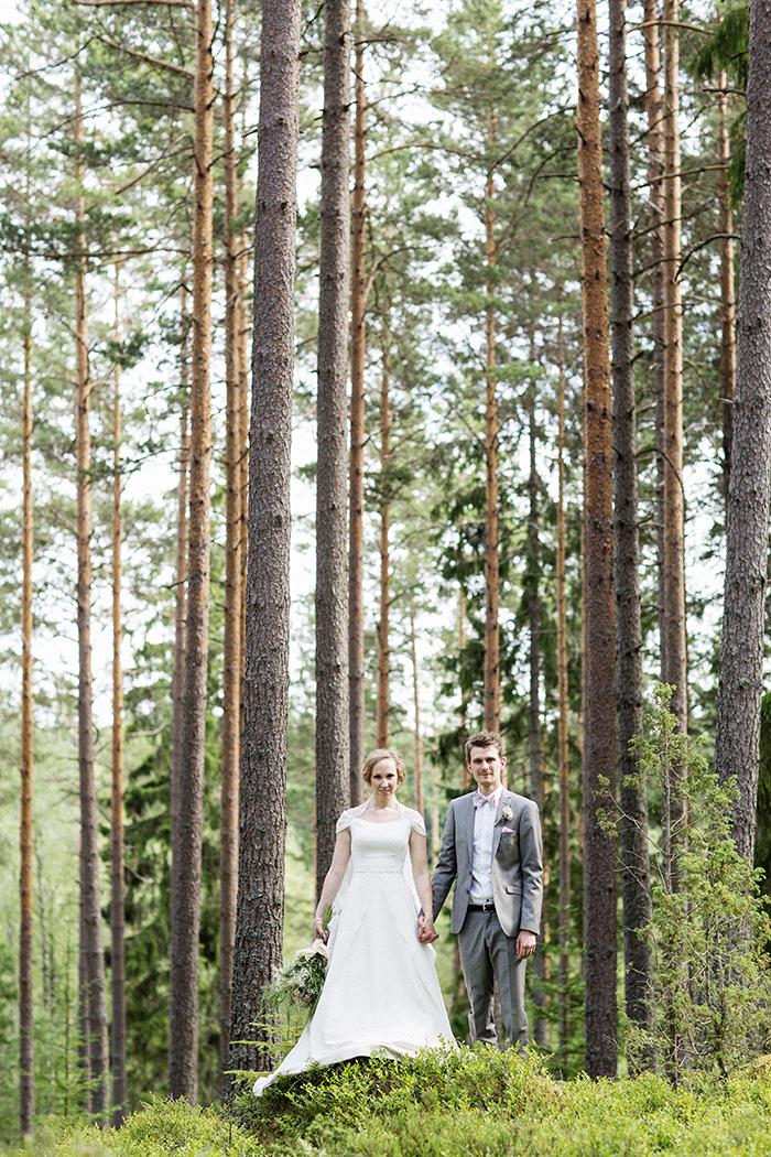 bröllopsporträtt Lena Larsson