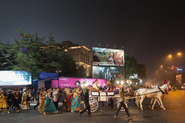 Wedding party, India