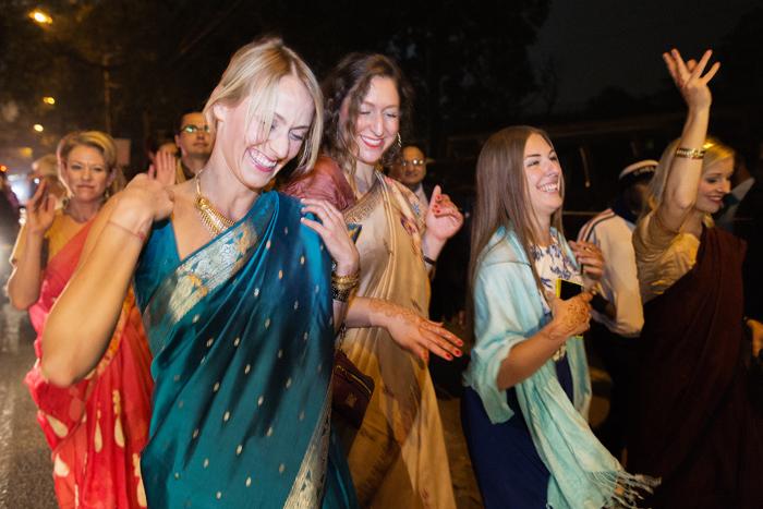Kvinnor i Sari