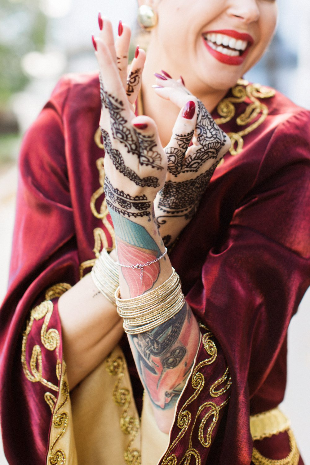 Turkish henna ceremony in Sweden  © Lena Larsson