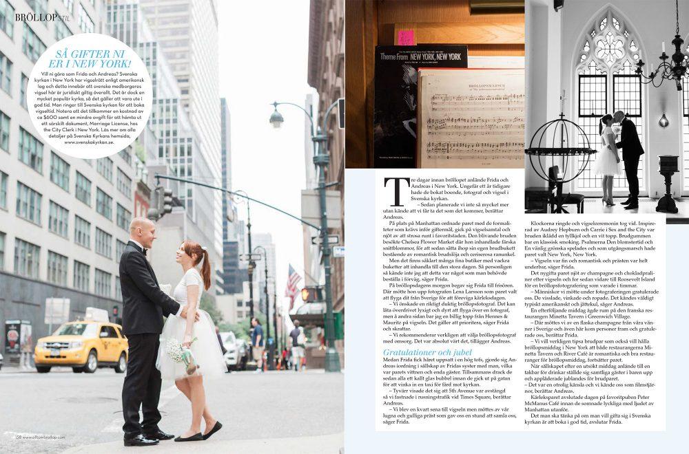 destinationsbröllop i New York
