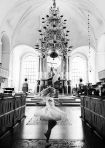 brudnabb i altargang katarina kyrka