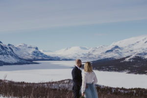 brollopsfotograf Lappland