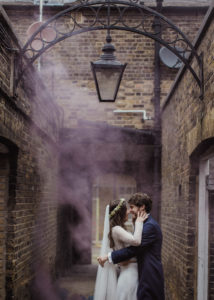 brudpar i London