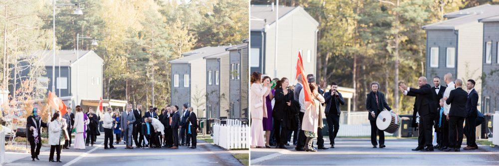 brudgummen hamtar bruden pa turkiskt brollop