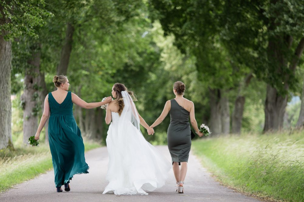 bridesmaids in sweden