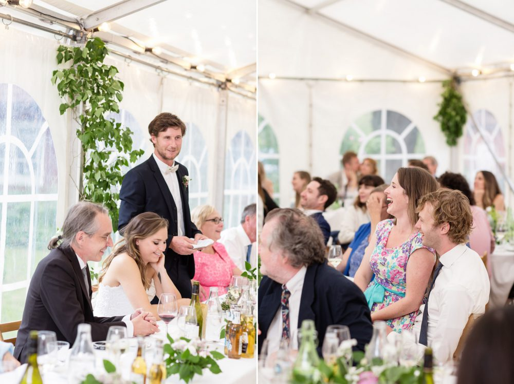 grooms speech at swedish wedding