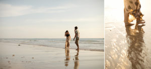 relaxed couple at kan Tiang Beach