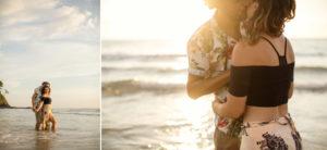 magical light on kan tiang beach thailand