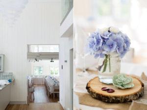 table settings marholmen wedding in sweden