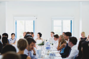 wedding dinner at marholmen