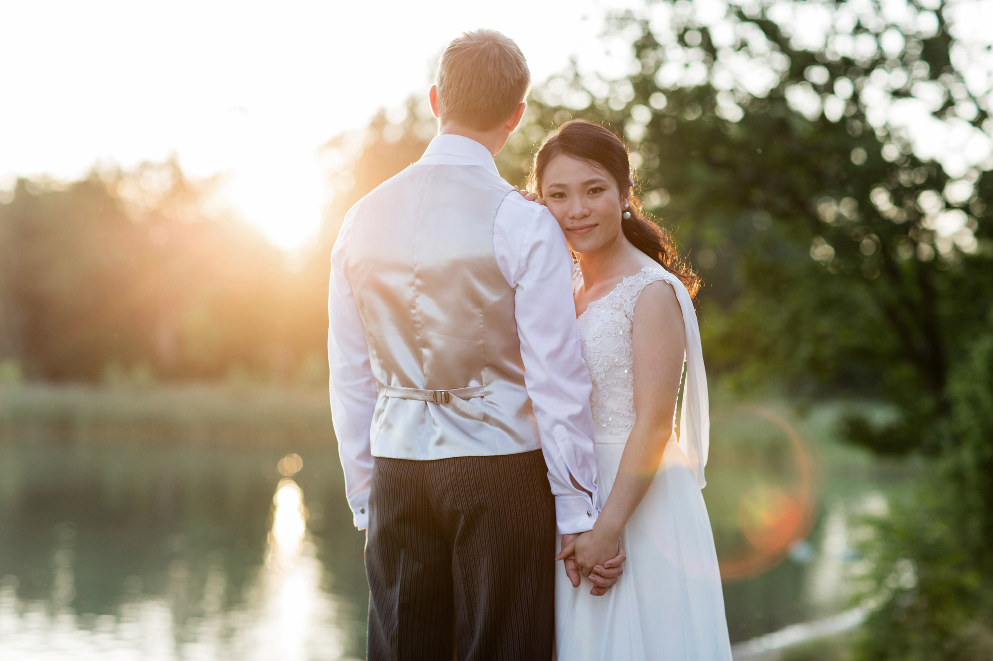 wedding portraits at marholmen
