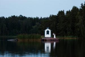 wedding at marholmen sweden