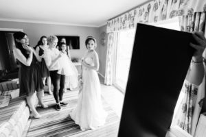 Bridal preparations in the Scottish Borders
