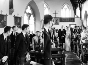 catholic ceremony at traquair kirk innerleithen