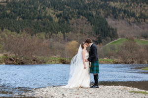 rustic wedding scenes in Scotland
