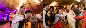 Ceilidh at scottish wedding
