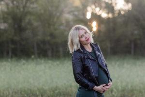 gravidbilder i morgonljus