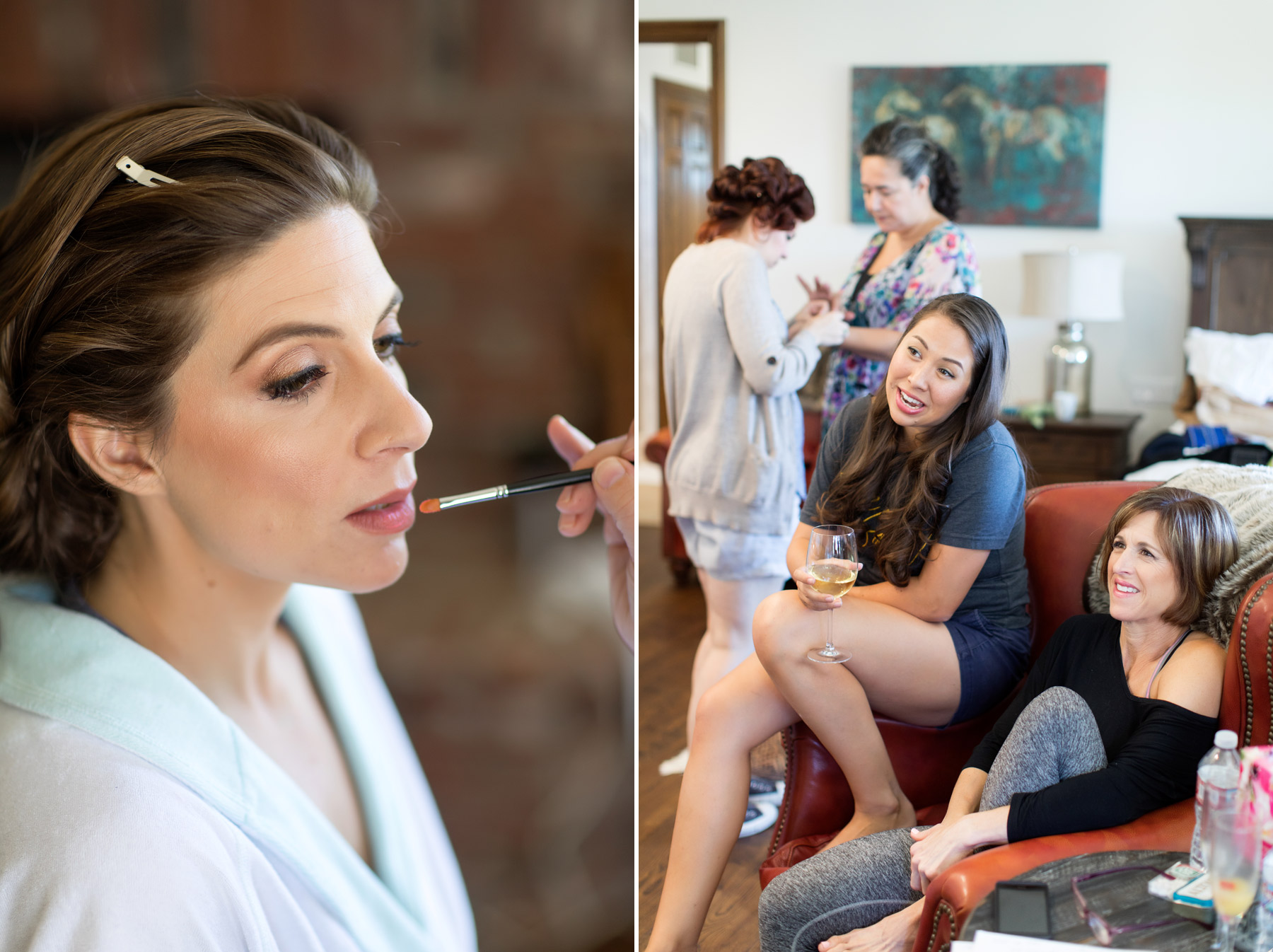 bridal make up los olivios wedding