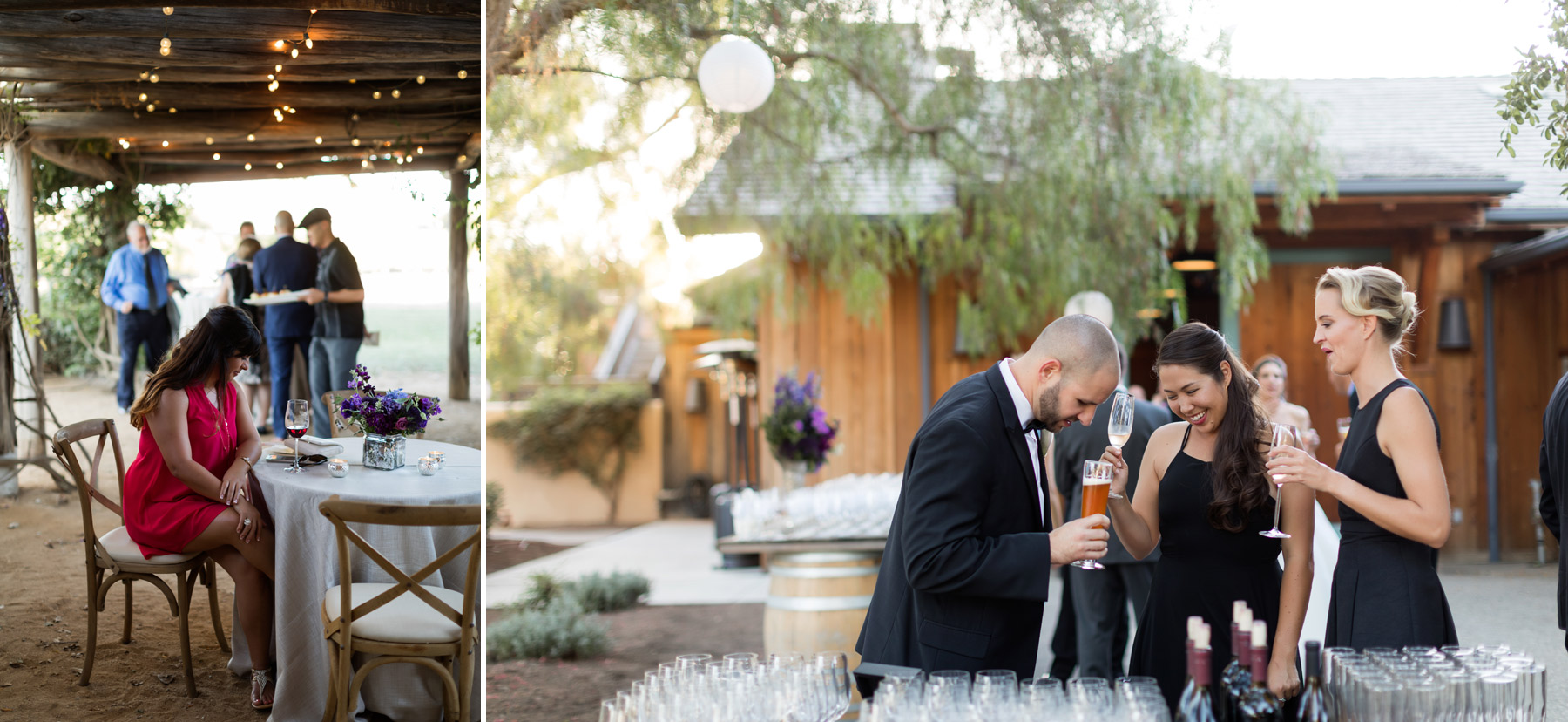 wedding at the roblar winery