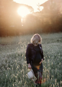 gravidbilder i morgondis i Italien