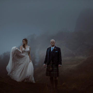 brollopsfotograf Skottland
